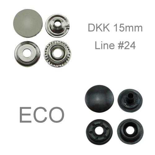 Druckknöpfe 15mm ECO