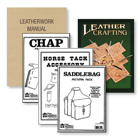 Lederbücher, Lederhandwerk, Anleitungen, Schnittmuster - DS-LEDERBEDARF