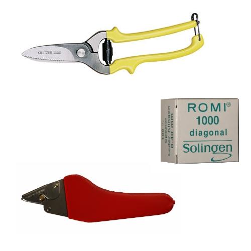 Messer, Scheren & Hobel